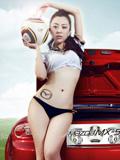 刚小希Cynthia马自达MX-5跑车广告