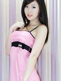 韩国车模黄美姬靓丽自拍高清照片