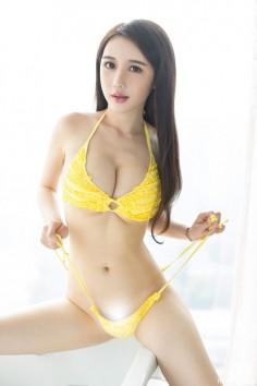 Ugirls尤果网 2015.06.17 U095 王瑾轩  人美乳沟深
