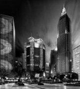 十一步作品《城市广场》
