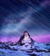 陈曦Stanley作品《寰宇金字塔的塔尖,马特洪峰》