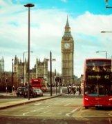 隽作品《伦敦街景》