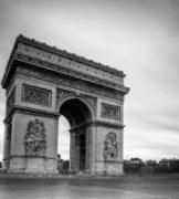 隽作品《Arc de triomphe de l' toile》