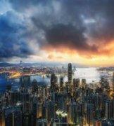 RayChiu作品《维港,冰与火之歌》