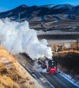 云飞海扬作品《正在消失的蒸汽火车》