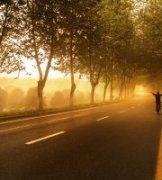航程新起点作品《晨光中的雾霾》