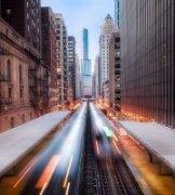 Andrew-Fang作品《钢铁都市芝加哥》